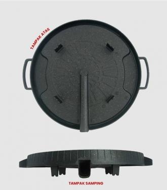 EasyCook Bulgogi Grill - Grill Ala Korea Dengan Katup Pembuang Lemak