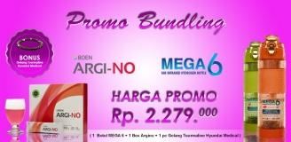BUNDLING ARGINO + MEGA 6