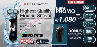 SWISS MILITARY ELECTRIC SHAVER